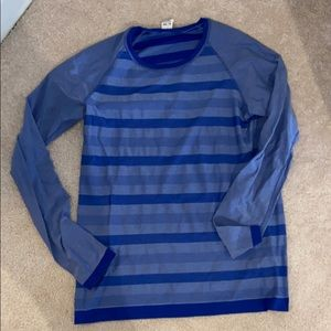 C9 moisture wicking striped shirt
